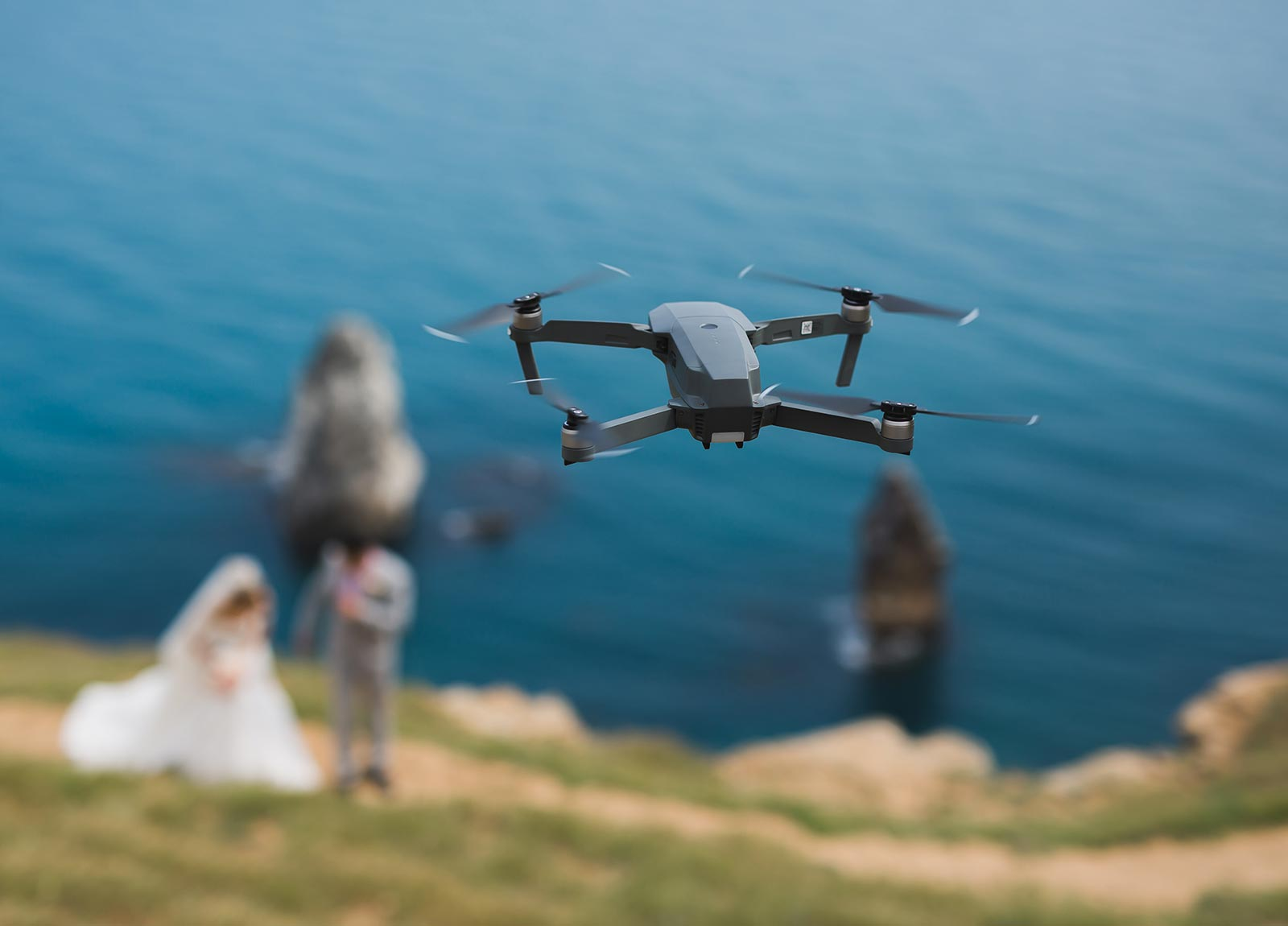 Riprese droni per matrimoni