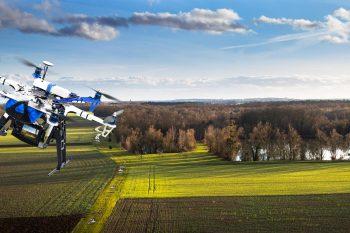 Riprese con droni in ambito agricolo