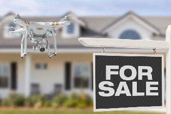 Riprese con droni per il settore immobiliare